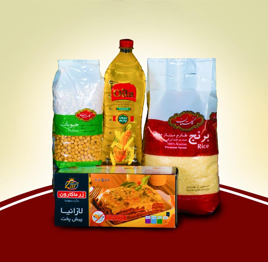 نمونه کار عکاسی از محصولات سوپر مارکت آنلاین جیجو