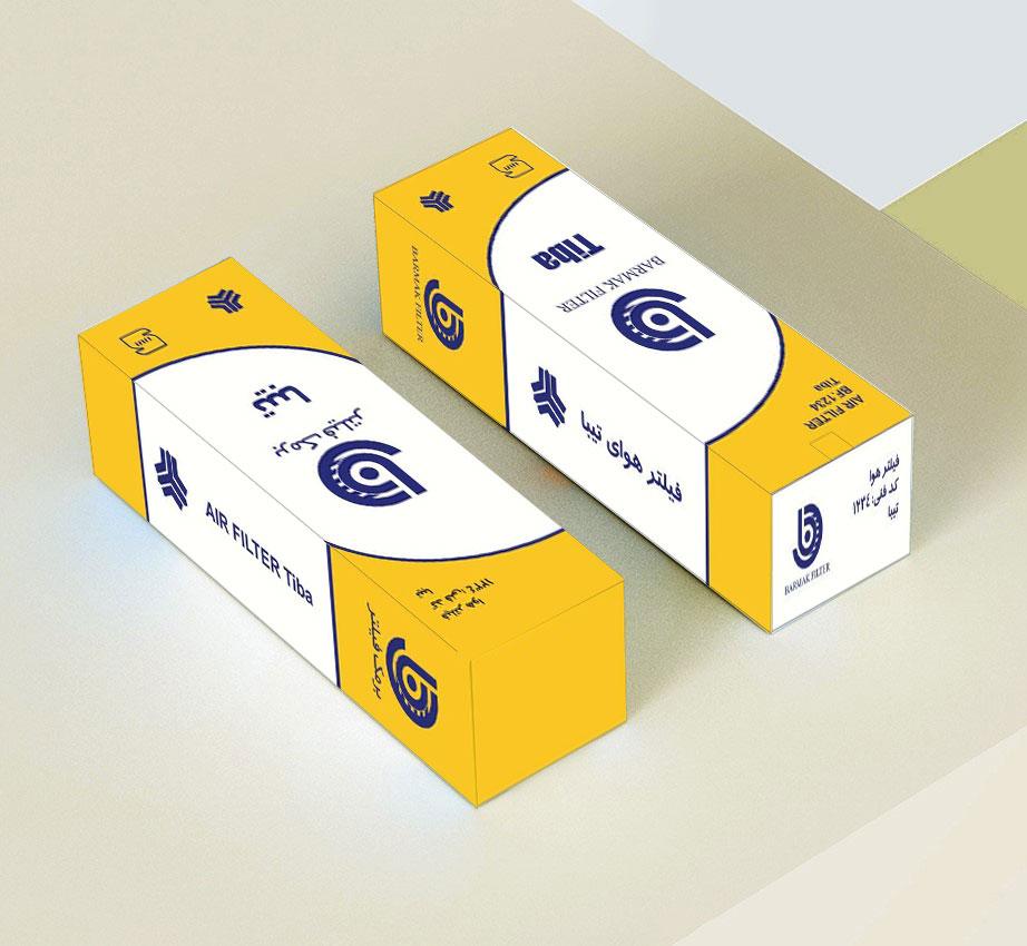 نمونه کار طراحی بسته بندی ایرسا